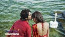 Shanvi and Sushanth Still from Telugu Movie Adda