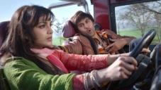 Pallavi Sharda and Ranbir Kapoor still from Besharam