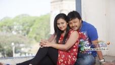 Amoolya and Ganesh in Kannada Movie Sravani Subramanya