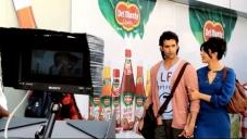Hrithik Roshan and Priyanka Chopra on Krrish 3 film sets