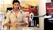 Hrithik Roshan still from Krrish 3 film behind the scenes