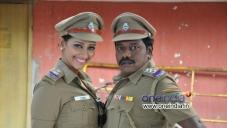 Karunas, Sanjana Singh in Ragalaipuram
