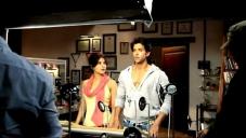 Priyanka Chopra and Hrithik Roshan still from Krrish 3 film behind the scenes
