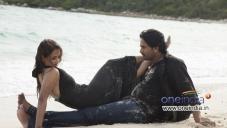 Tia Bajpai and Srinagar Kitty in Kannada Movie Droha