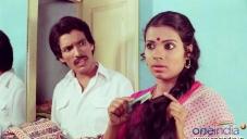 Kashinath and Umashri in Kannada Film Anubhava