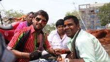 Nani stills from Telugu Movie Paisa