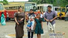 Meena, Mohanlal in Malayalam Movie Drishyam