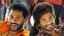 Prabhu Deva and Shahid Kapoor still from Gandi Baat song of R... Rajkumar