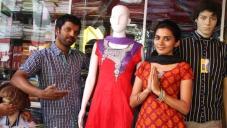 Sathish Ninasam and Sindhu Lokanath in Love in Mandya