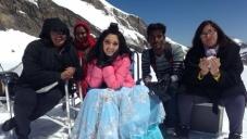 Tamanna Bhatia on the sets of film Veeram