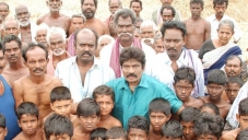 Goundamani on the sets of film 49 O