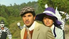 Dulquer Salman and Nazriya Nazim still from Vaayai Moodi Pesavum