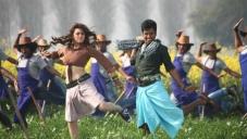 Siva Karthikeyan and Hansika Motwani still from Maan Karate