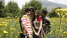 Tanuj Virwani, Aditya Seal and Isabelle Liete still from Purani Jeans