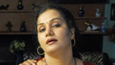 Apoorva in Hot Red Saree