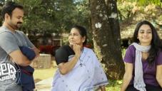 Kunchacko Boban, K. P. A. C. Lalitha and Namitha Pramod in Malayalam Movie Law Point