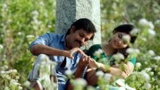 Natraj Subramanian and Ishara still from Sadhuranka Vettai