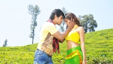 Aadi and Sanvi still from Pyar Mein Padipoyane