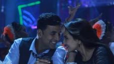 Akshay Kumar and Sonakshi Sinha still from Blame the night