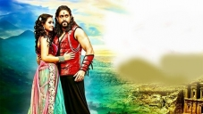 Amoolya and Yash in Kannada Movie Gajakesari