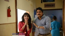 Nagarjuna and Samantha in Manam