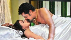 Pooja Gandhi and Ravishankar in Kannada Movie Abhinetri