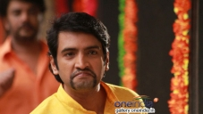 Santhanam still from Aranmanai Movie