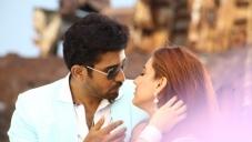 Actor Vijay Antony and Aksha Pardasany still from Tamil Movie Salim