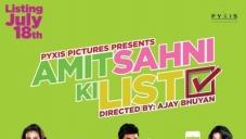 Amit Sahni Ki List First Look Poster