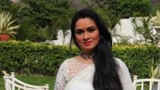 Padmini Kolhapure on the sets of Sony TV 'Ekk Nayi Pehchaan'