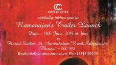 Ramanujan Trailer Launch Posters