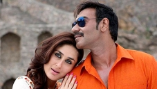 Kareena Kapoor and Ajay Devgan