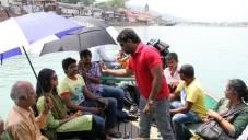Monal Gajjar, Vikram Prabhu and Sathish