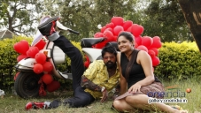 Nagshekar and Rakistha in Kannada Movie Cigarette