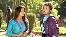 Soujanya and Jeeva in Santhoshakke