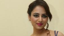 Zoya Afroz in Blue Dress
