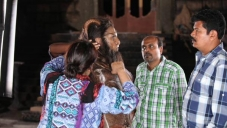 I Movie Making Stills