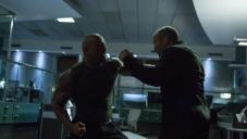 Jason Statham and Dwayne Johnson Action Scene