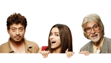 Irrfan Khan, Deepika Padukone & Amitabh Bachchan in Piku