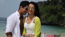 Siddharth and Trisha Krishnan