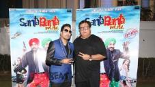 Mika Singh on the Set of Santa Banta Pvt Ltd