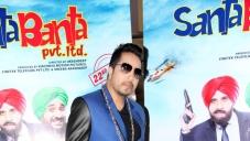 Santa Banta Poses on the set of Santa Banta Pvt Ltd