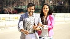 Suriya and Anushka Shetty