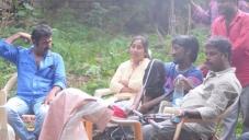 Nisabdham Movie Working Stills