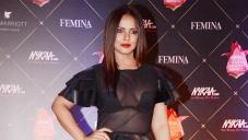 Neetu Chandra at Nykaa Femina Beauty Awards 2018