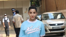Nora Fatehi at Dance Studio