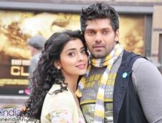 Shriya Saran and Arya Photos