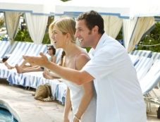 Jennifer Aniston and Adam Sandler Photos