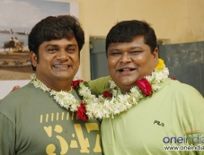 Rangayana Raghu and Bullet Prakash Photos