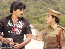 Vijay and Kausha in Bhagavantudu Photos